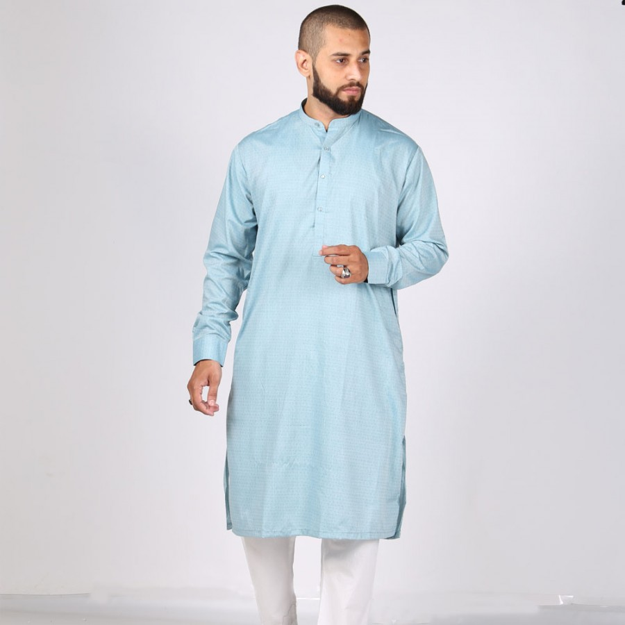 Blue Color Plain Kurta KKK-01-03