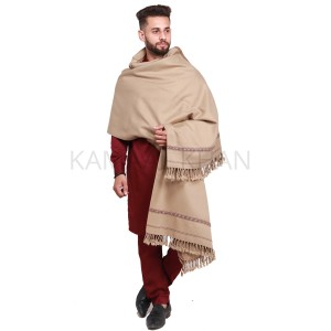 Pista Pure Acro-Woolen Dhussa Shawl For Man SHL-030-10