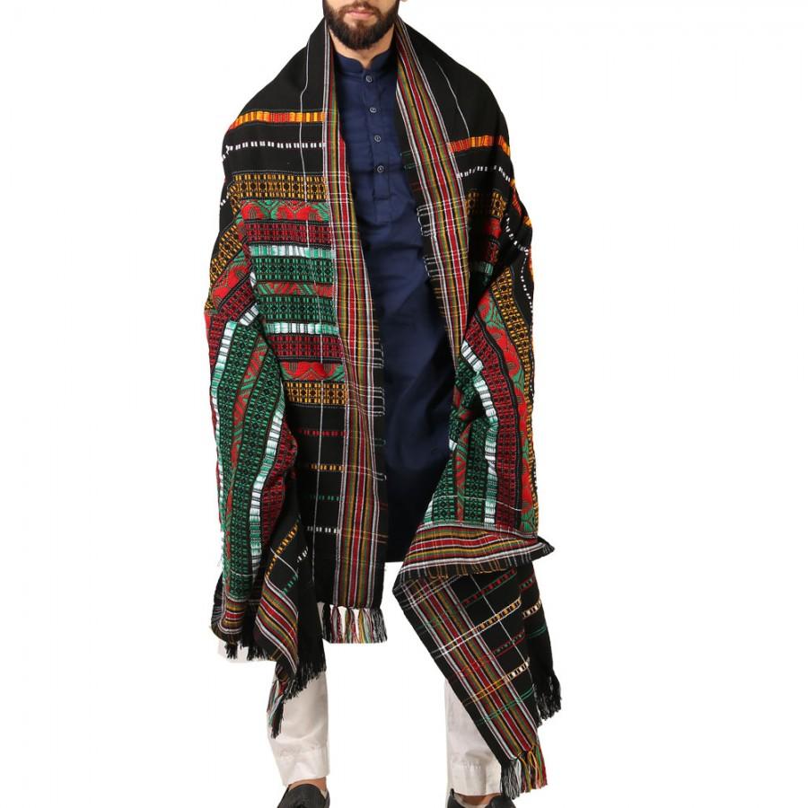 Handmade Sindhi Tharri / Khatri  / Wadera Shawl SHL-110