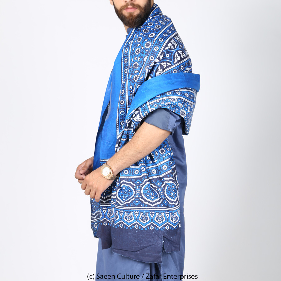 Neel Blue Multani / Saraiki Ajrak SA-01-02