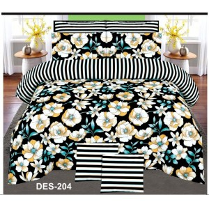 Cotton Printed Bed Sheet Sets [All Sizes] Design CC-690