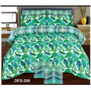 Cotton Printed Bed Sheet Sets [All Sizes] Design CC-684