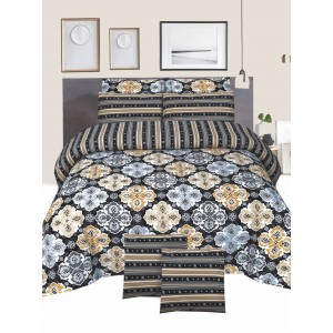 Cotton Printed Bed Sheet Sets [All Sizes] Design CC-680