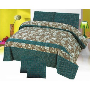 Cotton Printed Bed Sheet Sets [All Sizes] Design CC-682