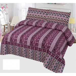 Cotton Printed Bed Sheet Sets [All Sizes] Design CC-685