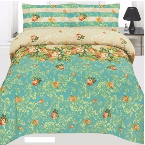 Cotton Printed Bed Sheet Sets [All Sizes] Design CC-687