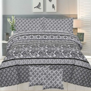Cotton Printed Bed Sheet Sets [All Sizes] Design CC-694