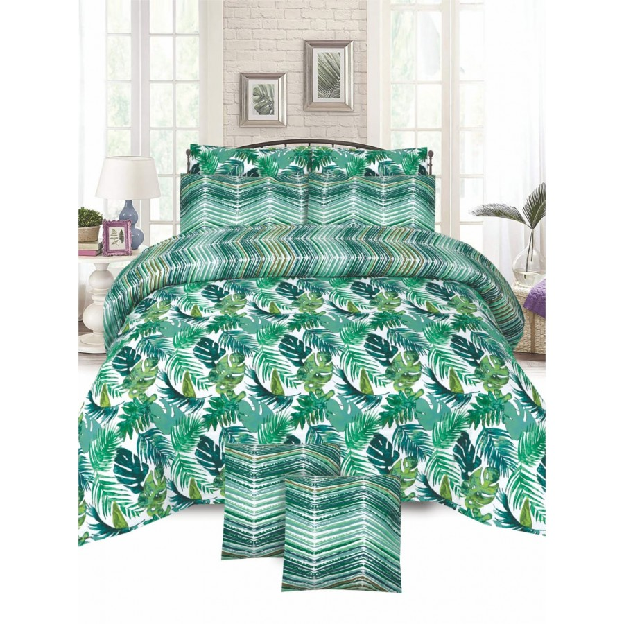 Cotton Printed Bed Sheet Sets [All Sizes] Design CC-744