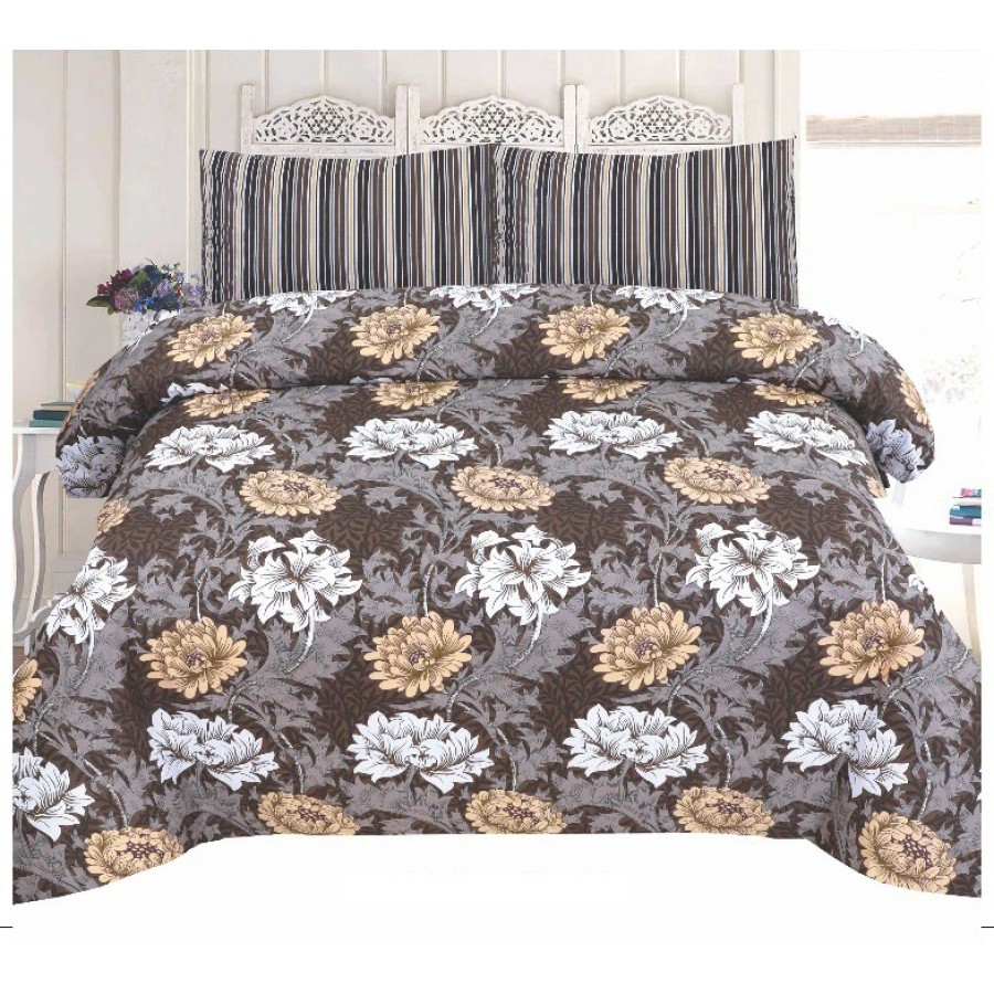Cotton Printed Bed Sheet Sets [All Sizes] Design CC-726