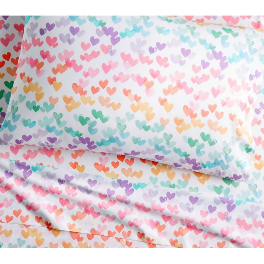 Pure Cotton 200 TC Kids & Teen Multicolour Bedsheet CC-809