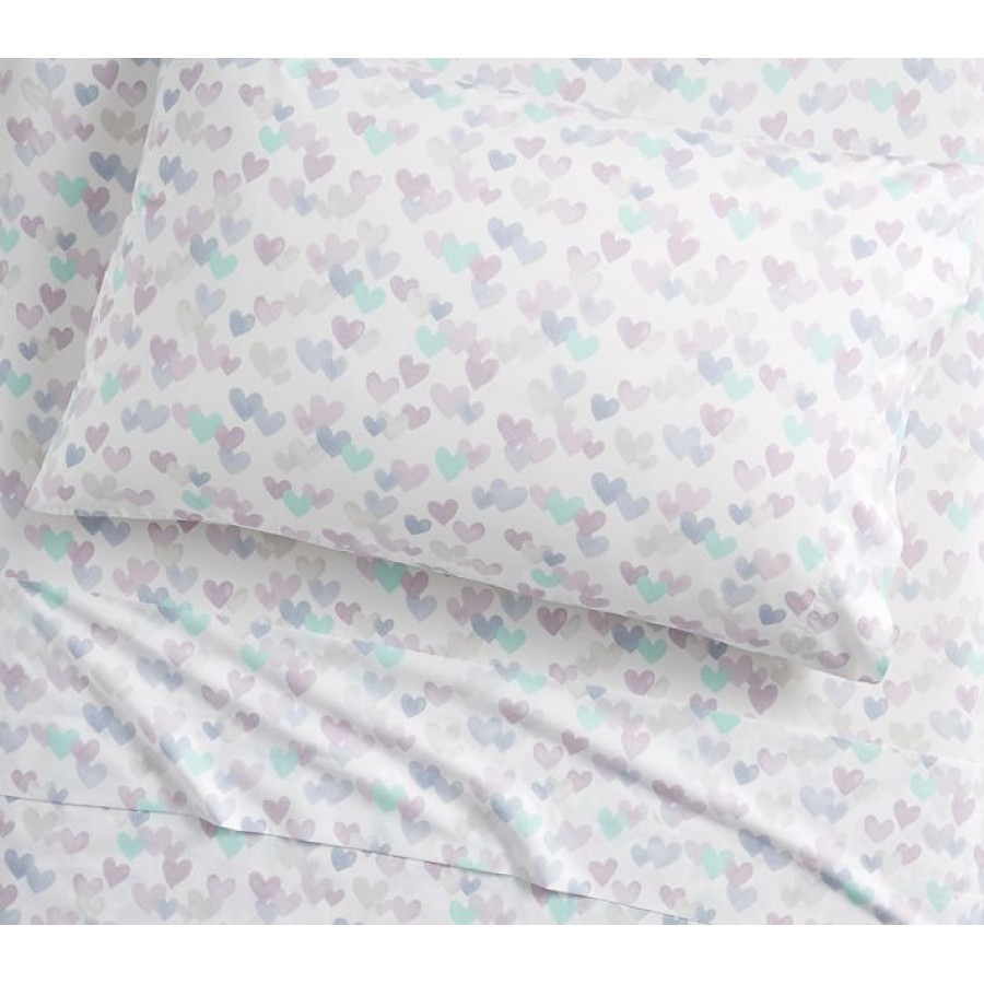 Pure Cotton 200 TC Kids & Teen Multicolour Bedsheet CC-810