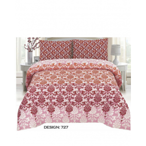Cotton Printed Bed Sheet Sets [All Sizes] Design CC-600