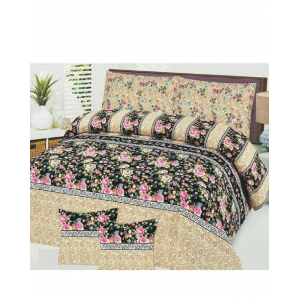 Cotton Printed Bed Sheet Sets [All Sizes] Design CC-613