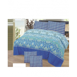 Cotton Printed Bed Sheet Sets [All Sizes] Design CC-618