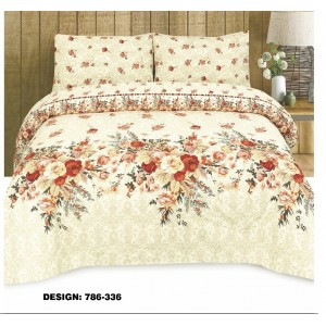 Cotton Printed Bed Sheet Sets [All Sizes] Design CC-590