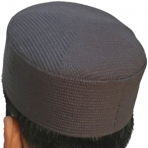 a77aed4db Buy Dark Gray Premium Quality Quilted Turban Cap / Hat / Kufi IBZ ...