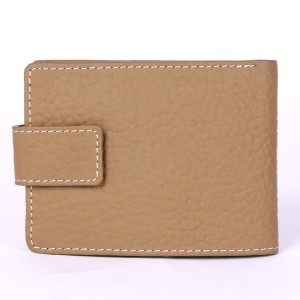 15 Pockets Genuine Cow Leather Wallet (Mustard)  MGW-003