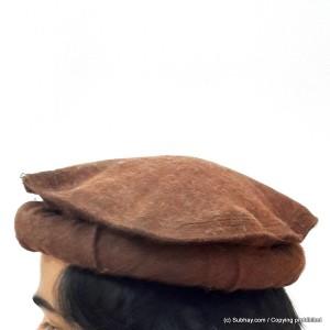 Dark Brown - Afghan Pakul Chitrali Cap Pakol Hat Peshawari Handmade 100%  Fine Quality HCC dca0c4ab43f