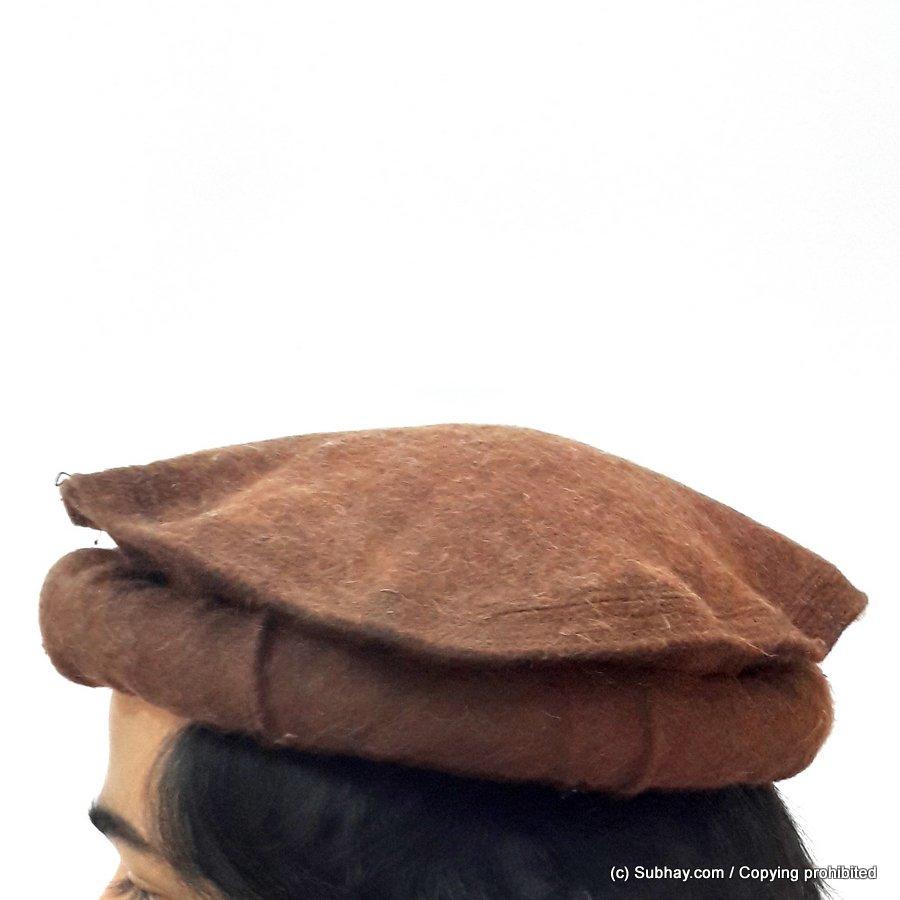 Buy Dark Brown - Afghan Pakul Chitrali Cap Pakol Hat Peshawari Handmade  100% Fine Quality HCC-14 - Online in Pakistan 279605d9e062