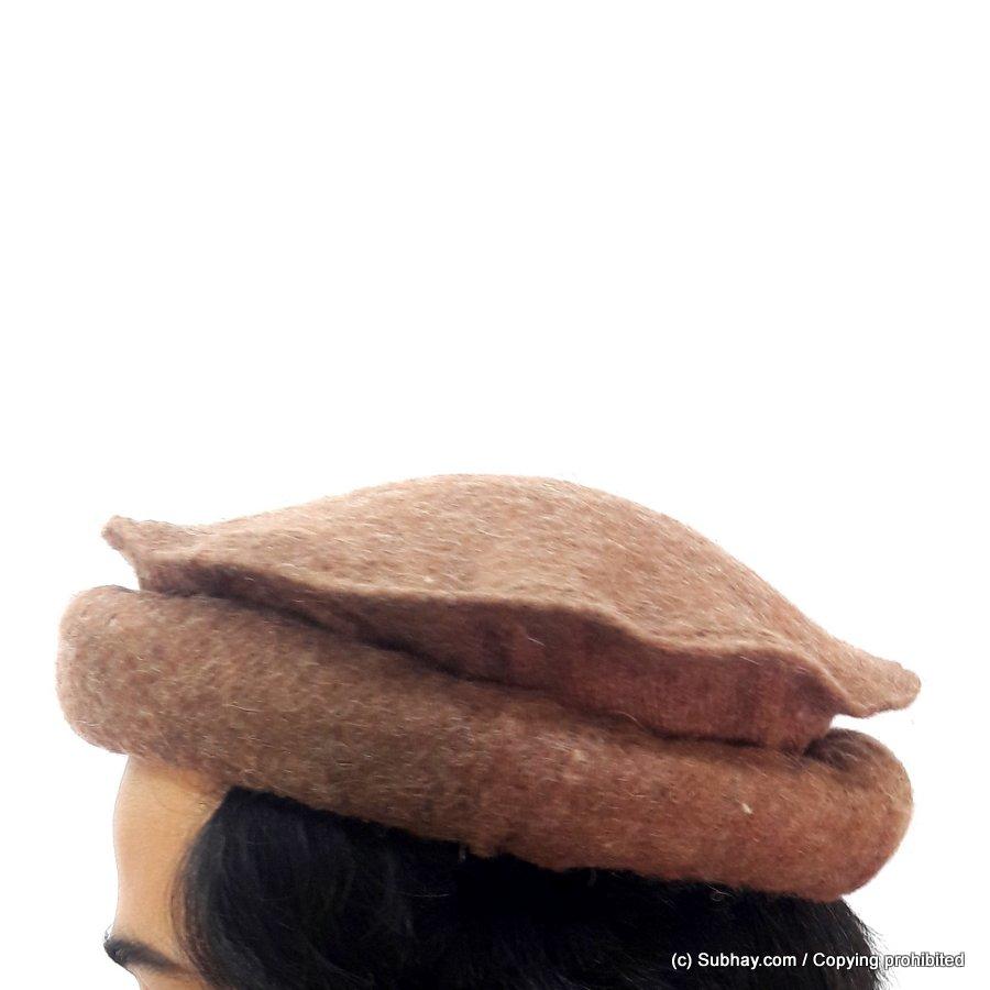 Buy Brown - Afghan Pakul Chitrali Cap Pakol Hat Peshawari Handmade 100%  Fine Quality HCC-15 - Online in Pakistan 281884d9155