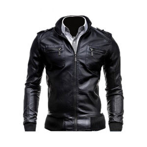 Muscle Bomber Alpha Leather Jacket Cusotm Made 8 Ot CP-028