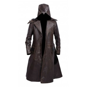 The Perfect Assassin's Creed Costume Leather Jacket  CP-001