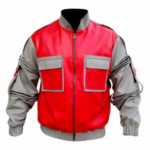 BACK TO THE FUTURE MCFLY LEATHER JACKET CP-002