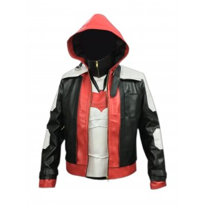 BATMAN ARKHAM KNIGHT RED HOOD LEATHER JACKET & VEST CP-003