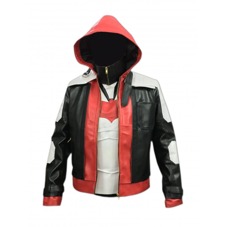 a6b215b4961 Buy BATMAN ARKHAM KNIGHT RED HOOD LEATHER JACKET   VEST CP-003 ...