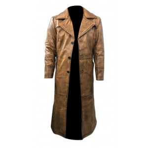 Batman Vs Superman Dawn Of Justice Leather Trench Coat CP-004