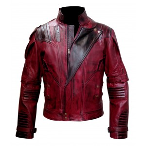 New Guardian Of The Galaxy 2 Star Lord Leather Jacket CP-006