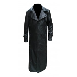 James Master Buffy The Vampire Killer Leather Trench Coat CP-007