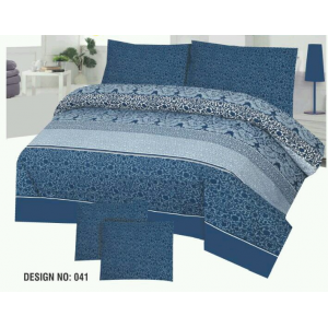 Cotton Printed Bed Sheet Sets [All Sizes] Design CC-561