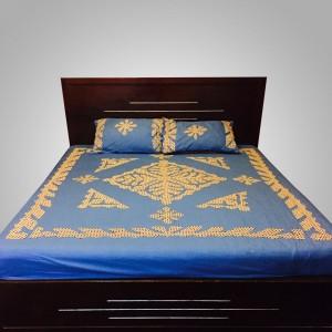 Blue Handmade Sindhi Ralli / Rally / Bedsheet HM-11-06