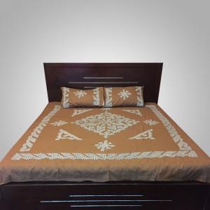 Brown Handmade Sindhi Ralli / Rally / Bedsheet HM-11-02