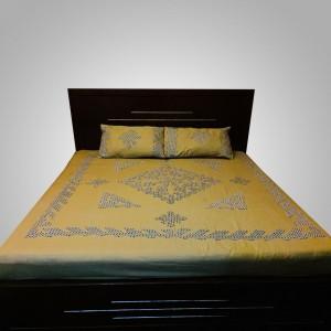 Yellow Handmade Sindhi Ralli / Rally / Bedsheet HM-11-07