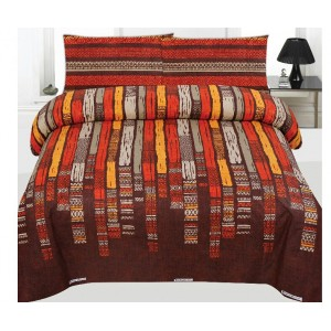 Cotton Printed Bed Sheet Sets [All Sizes] Design CC-636