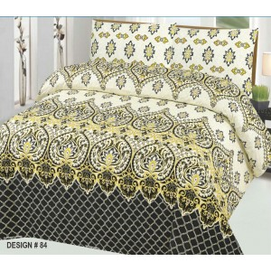 Cotton Printed Bed Sheet Sets [All Sizes] Design CC-641