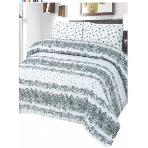 Cotton Printed Bed Sheet Sets [All Sizes] Design CC-668