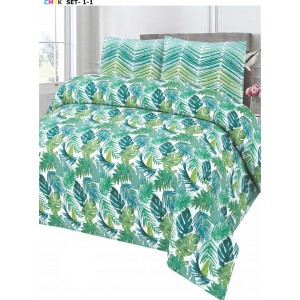 Cotton Printed Bed Sheet Sets [All Sizes] Design CC-672