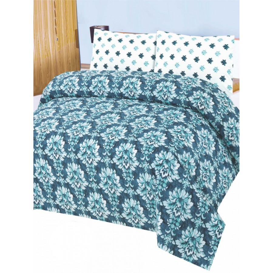 Cotton Printed Bed Sheet Sets [All Sizes] Design CC 678