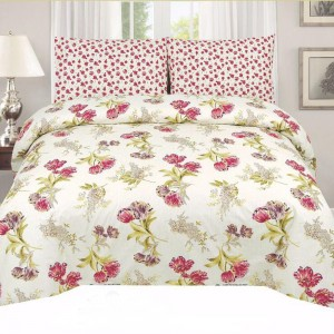 Cotton Printed Bed Sheet Sets [All Sizes] Design CC-457