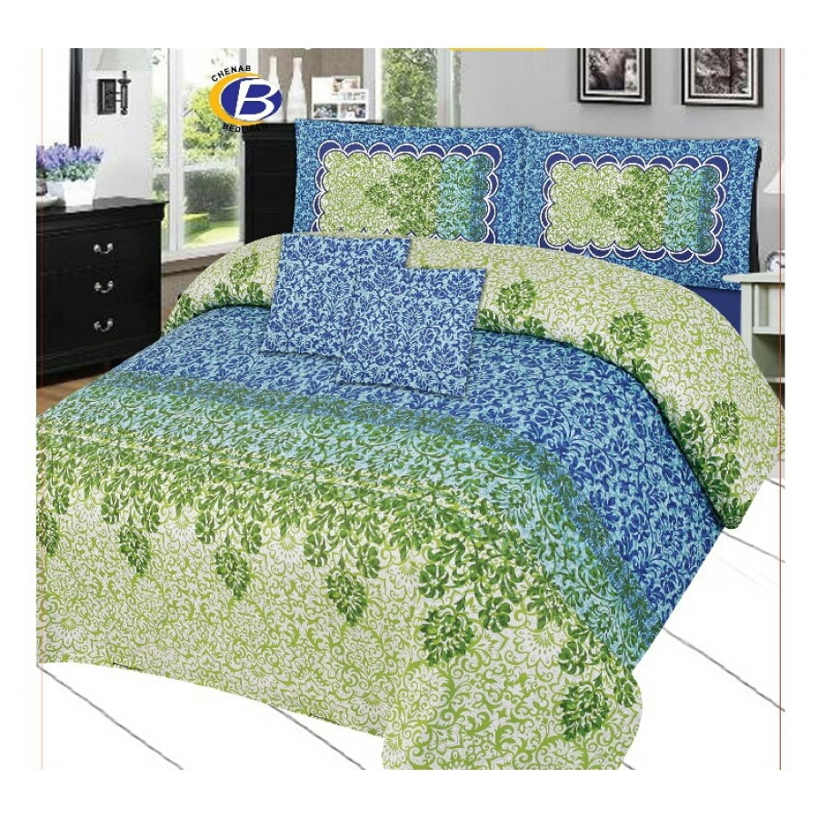 Cotton Printed Bed Sheet Sets [All Sizes] Design CC 467