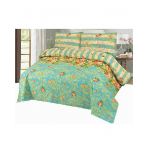 Cotton Printed Bed Sheet Sets [All Sizes] Design CC-499