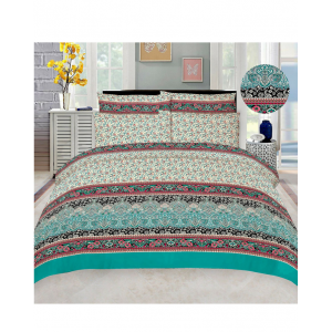 Cotton Printed Bed Sheet Sets [All Sizes] Design CC-504