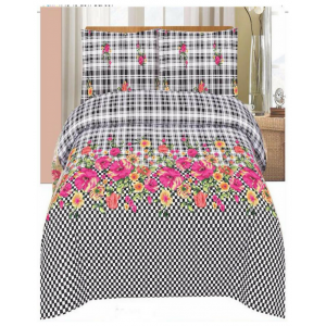 Cotton Printed Bed Sheet Sets [All Sizes] Design CC-545