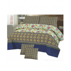 Cotton Printed Bed Sheet Sets [All Sizes] Design CC-548