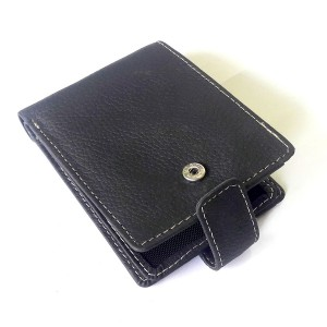 15 Pocket Bi-Fold Genuine Cow Leather Wallet For Him CLW-37