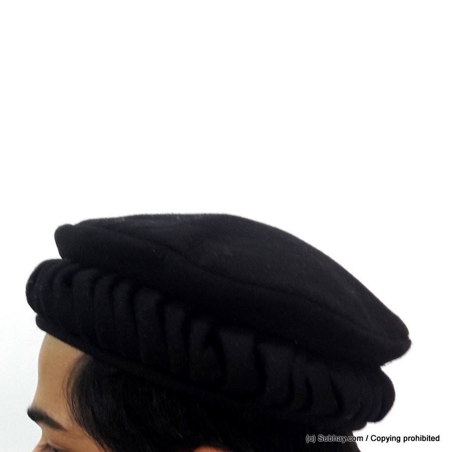 Buy Black Lahori Style Chitrali Caps or Pakol   Peshawari Cap HCC-04-1 -  Online in Pakistan 1ab5e8ba2d3