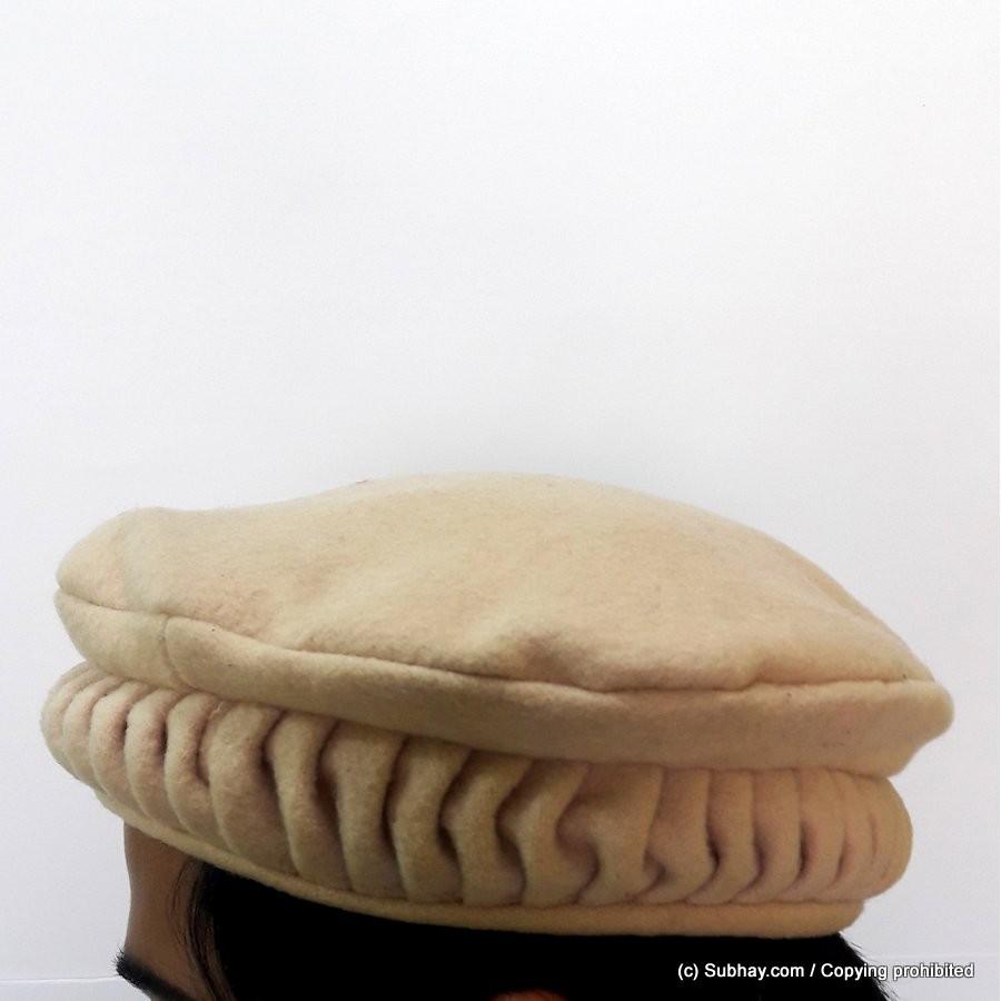 Buy Beige Lahori Style Chitrali Caps or Pakol   Peshawari Cap HCC-04-2 -  Online in Pakistan 89dbc601c15